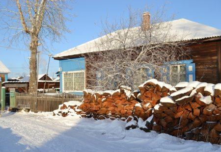 Дом в Братске, поселок Чекановский, где жил Анатолий Тарасенко