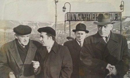 встреча 1964, вокзал Саратова, А. Флейшер, И. Логинов, А. Тарасенко, А. Коляскин
